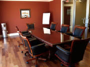 10 Foot Boat Shaped Conference Table from Canada Customer