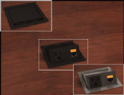 Data Ports And Power Centers For Conference Tables - Conference table power center
